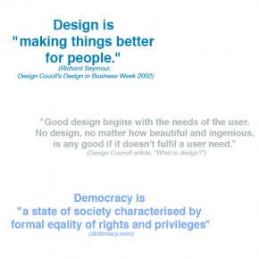 thinking about :: design democracy