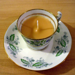 here's one I made earlier :: a nice cup of tea