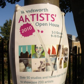 out and about :: wandworth artists' open house
