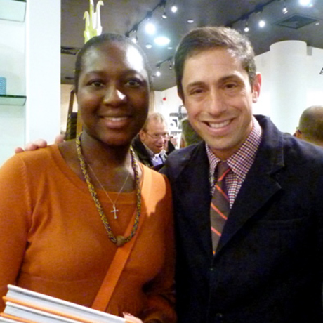 Mary-Ellen with Jonathan Adler