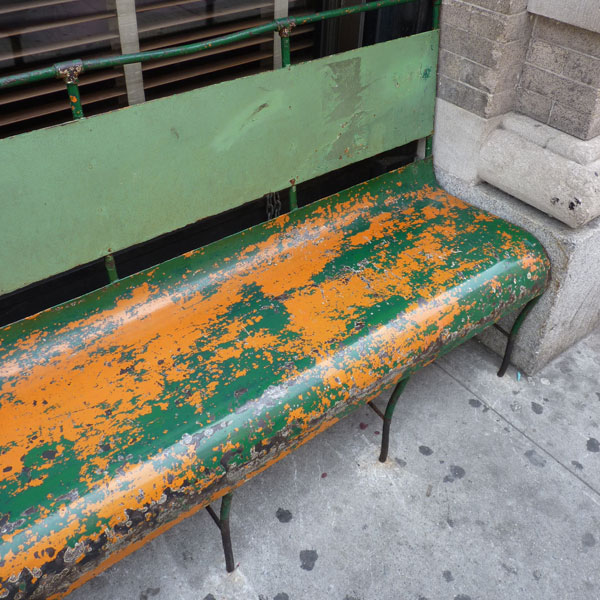 New York bench