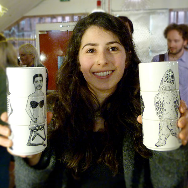 Chloe Lee Carson aka Shlos and her exquisite cups