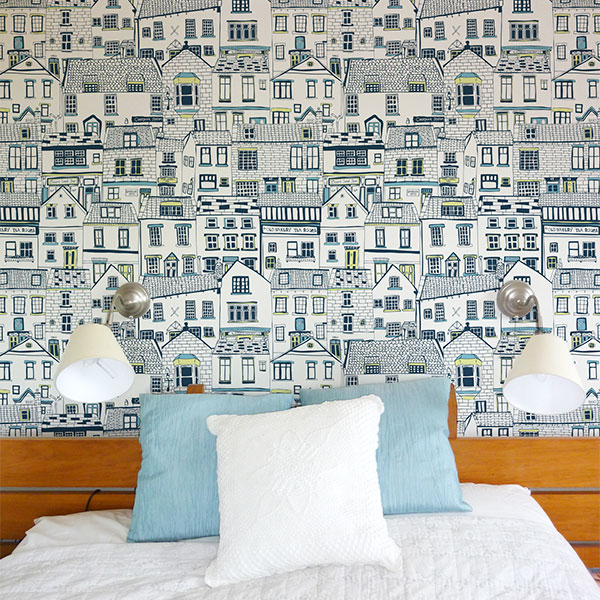 Jessica Hogarth Coastal Cottages Wallpaper