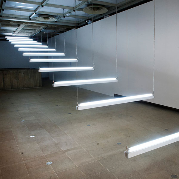 BRIGITTE KOWANZ Light Steps 1990 Hayward Gallery Light Show