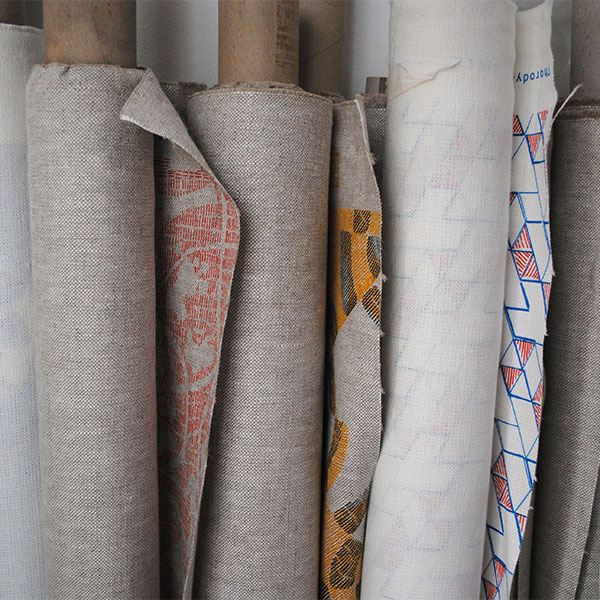 Fabric rolls Thorody