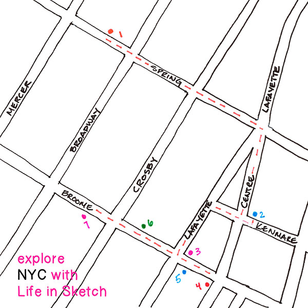 explore NYC map