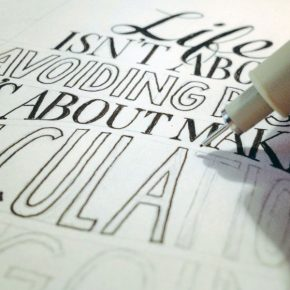 feature :: hand lettering