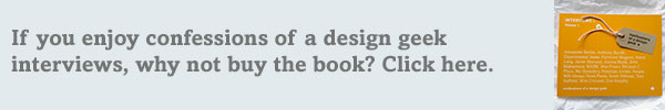Enjoy coadg interviews? Why not buy the book? Limited edition design book Interviews
