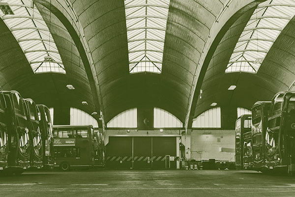 Lesser Known Architecture Stockwell Bus Garage
