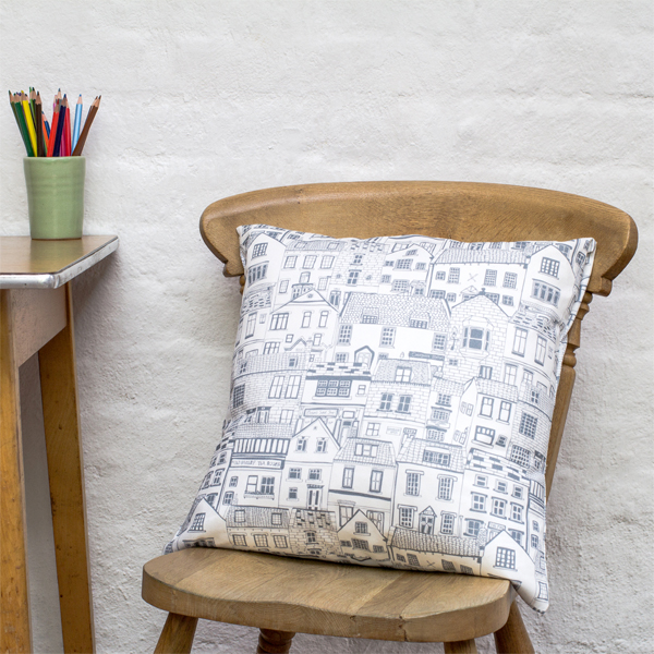 Jessica Hogarth Coastal Cottages cushion