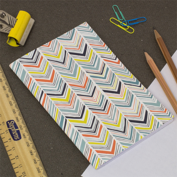 Jessica Hogarth Notebooks Chevron multi colour