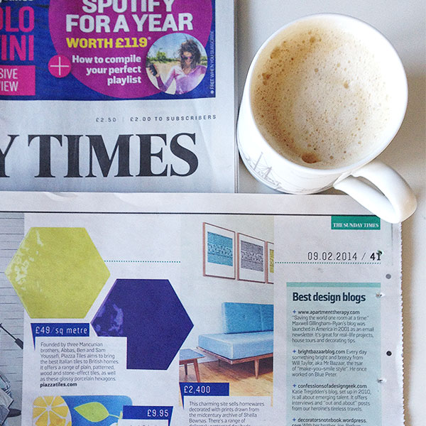 Sunday Times Best Design Blogs