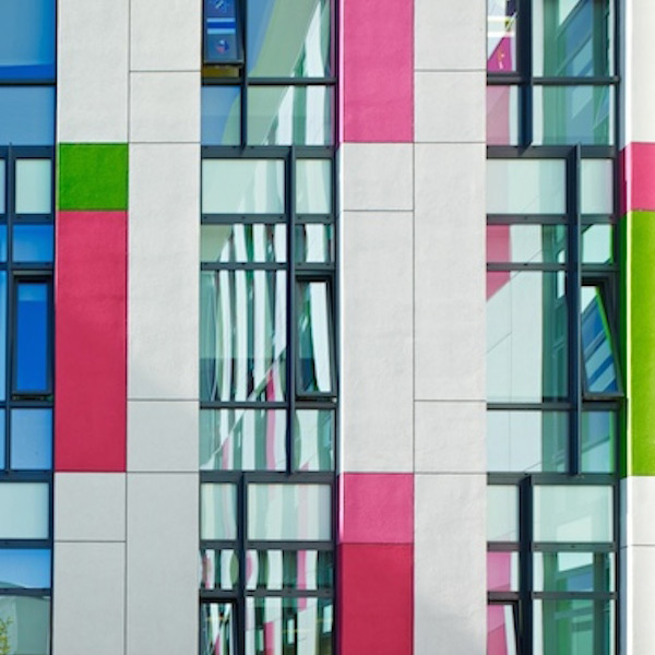 Kingsmill Hospital facade by Ptolomy Mann
