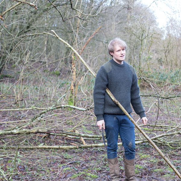 Sebastian Cox Hazel Coppicing