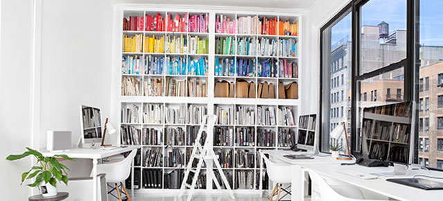 creative spaces :: sagmeister and walsh