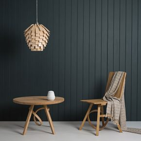 Tom Raffield's Scots Light is made from 80 steam-bent 'leaves'