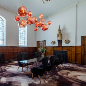 Tom Dixon creates co-working space in Clerkenwell church